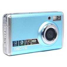 Digital camera DSC-V6 supports 1.3M to 12M megapixels, 8X digital zoom, video record in AVI format