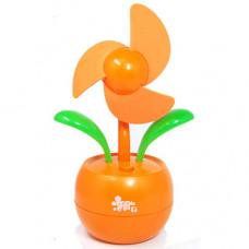 Flower style USB cooling fan HXY-618 for laptop or desktop PC users