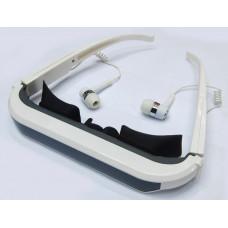 Eyewear theater Iwear for Apple iPad, iPhone and iPad, 60 inch virtual screen, portable and private theater